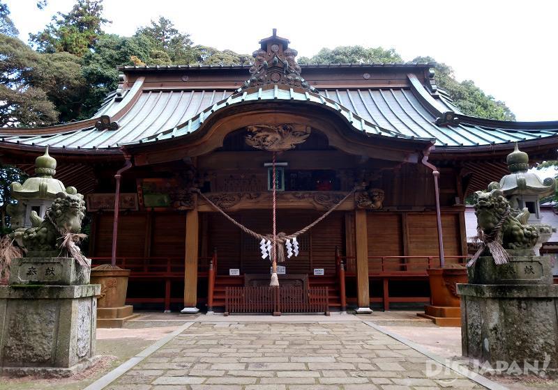 愛宕山神社 エトワ笠間の近く