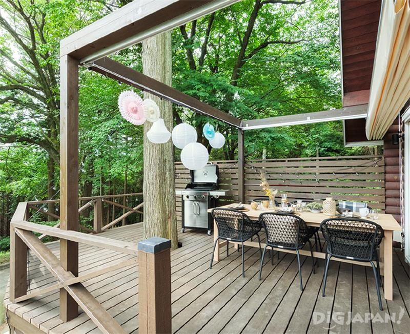 FOREST CABIN テラス
