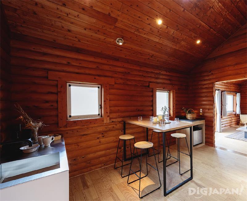 SUITE CABIN キッチン