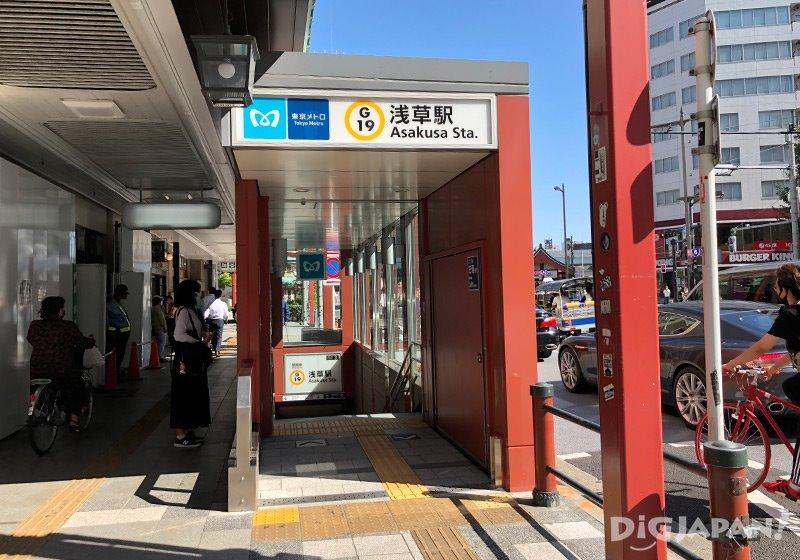 浅草駅からのアクセス_2