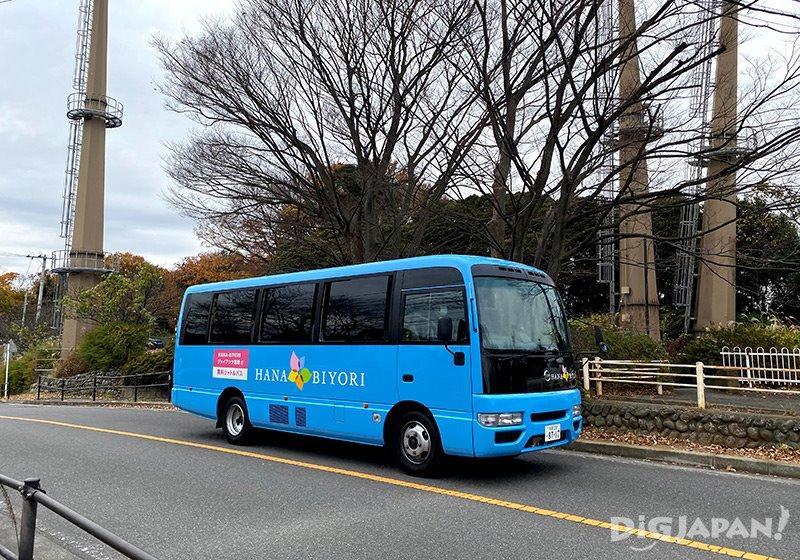 東京讀賣樂園免費接駁車