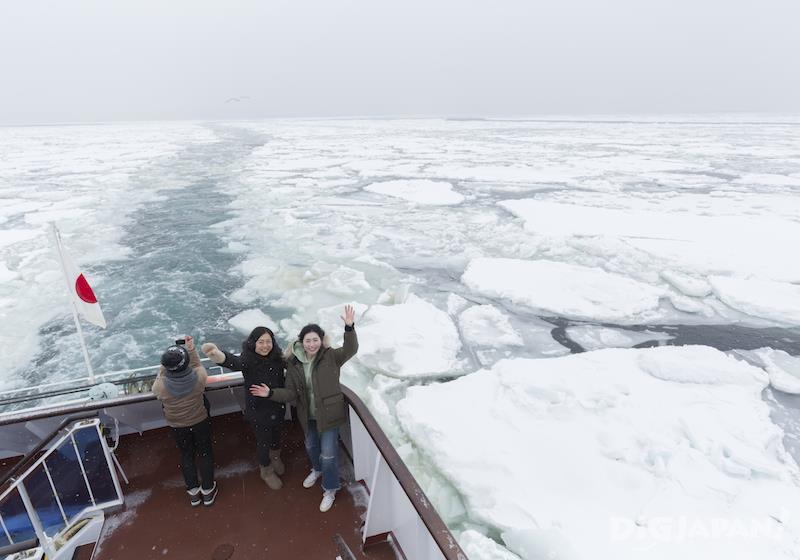 เรือชมวิวธารน้ำแข็ง Garinko