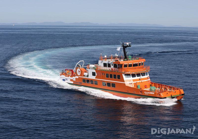 เรือชมวิวธารน้ำแข็ง Abashiri Aurora