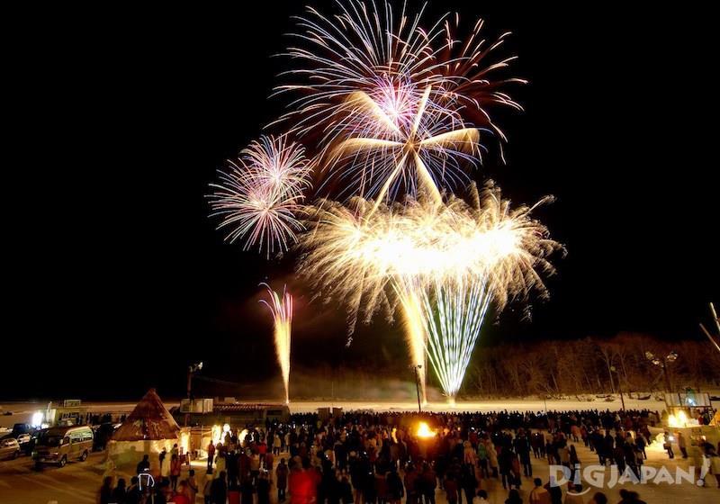 เทศกาล Lake Akan Ice Festival ICE・Love・Akan Fuyukami