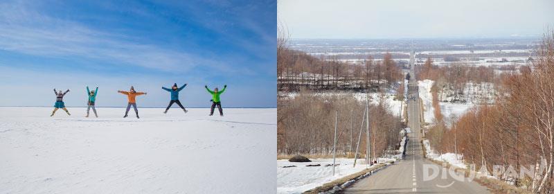 北海道の流氷体験スポット周遊モデルコース2