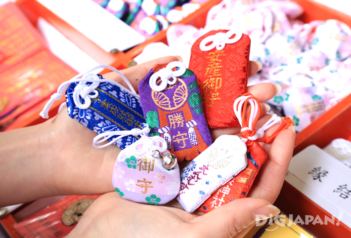 Omamori good luck charms love and marriage, success, safe childbirth