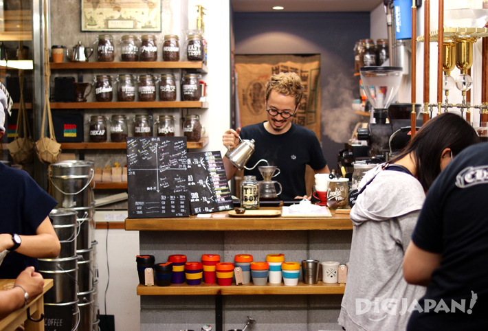 LiLo Coffee Roastersの店内