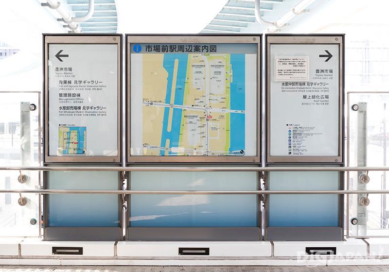 곳곳에 영어와 한국어 표기의 안내판이 있어요