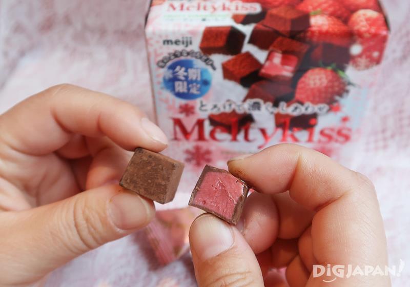 7.雪吻巧克力 香濃草莓 (明治)