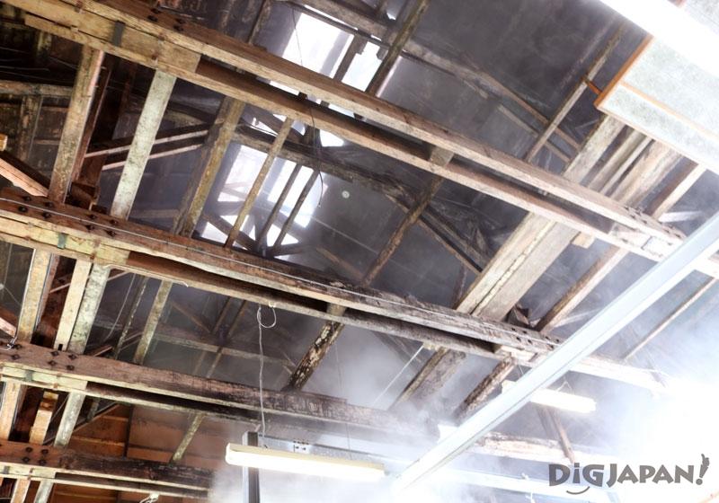 玉川酒造 天井