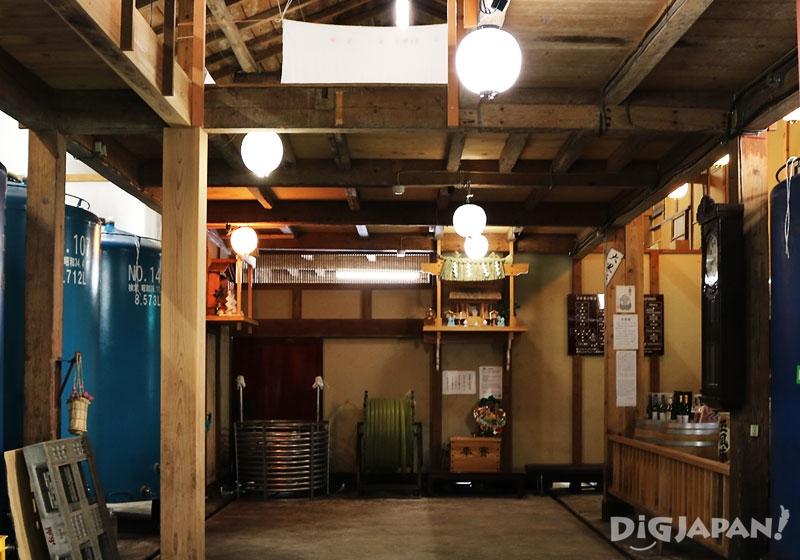 玉川酒造酒窖