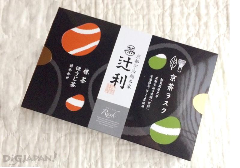 京茶法棍面包脆饼抹茶焙茶组合1166日元(各5片装)