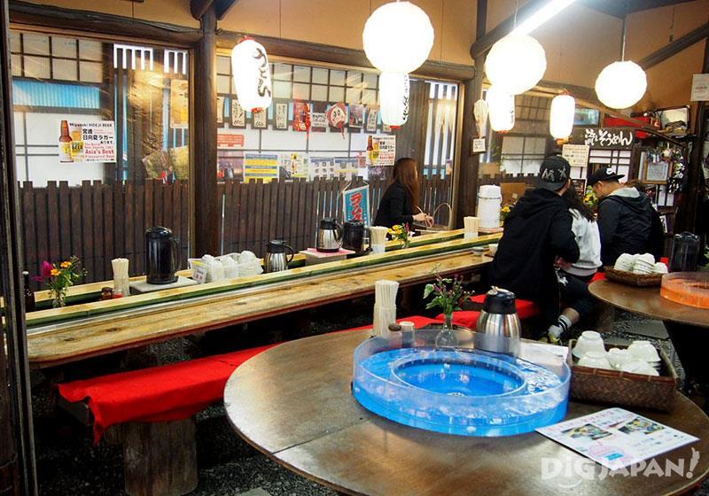 小小的店內充滿著傳統的日本風情