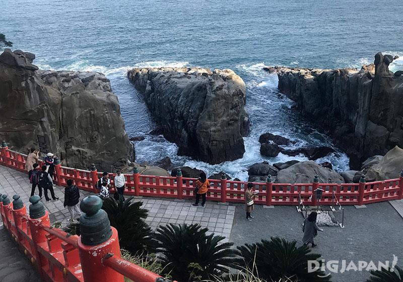 鵜戶神宮斷崖海景