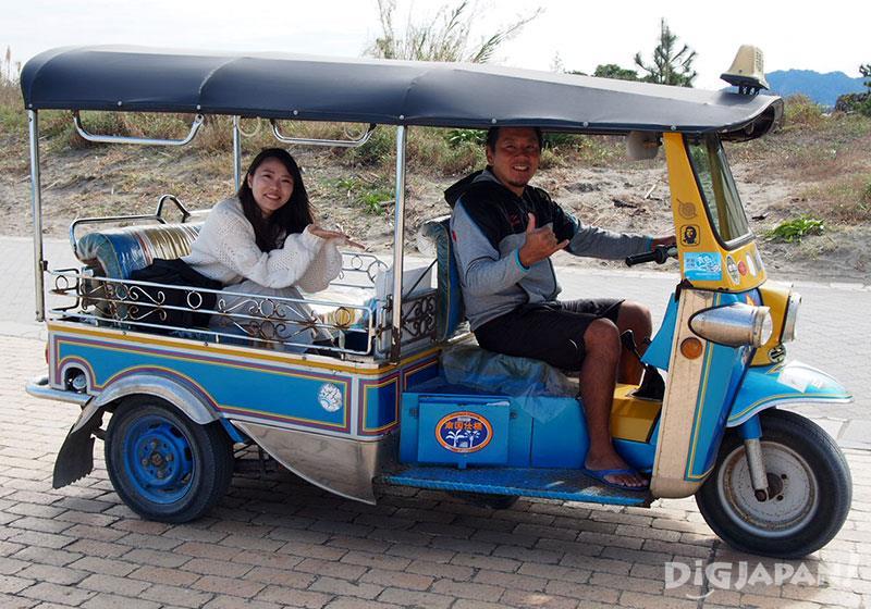 青島體驗搭乘三輪車Tuk Tuk