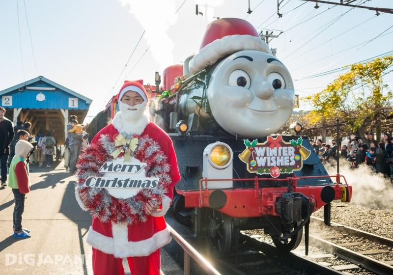 圣诞版的汤玛士号火车
