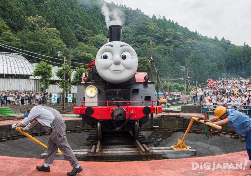 汤玛士号火车转头