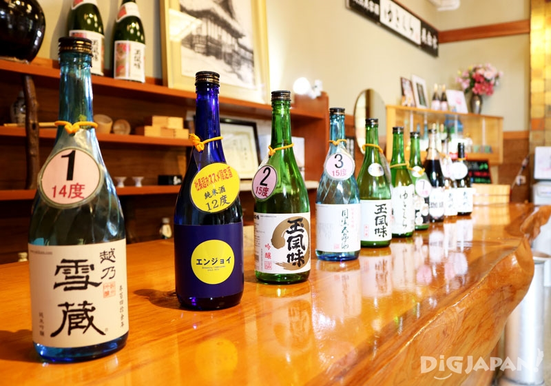 Enjoying 10 Different Kinds of Sake