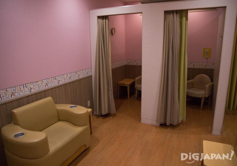 授乳室などお子様用の設備